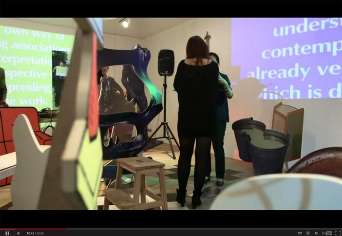 BMW Tate Live Performance Room, Almost Avantgarde by Liu Ding, 16 May 2013