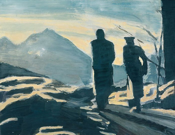 Luc Tuymans The Walk 1993