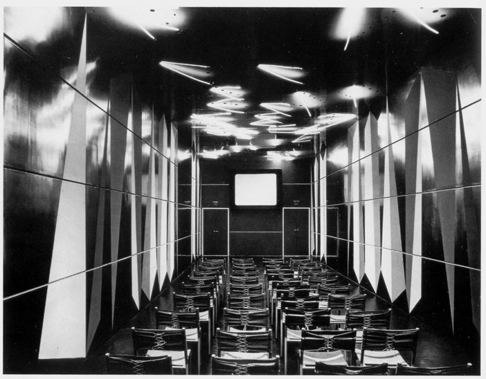Luciano Baldessari Lucio Fontana and Attilio Rossi Cinema for the Sidercomit Pavillion Milan 1953