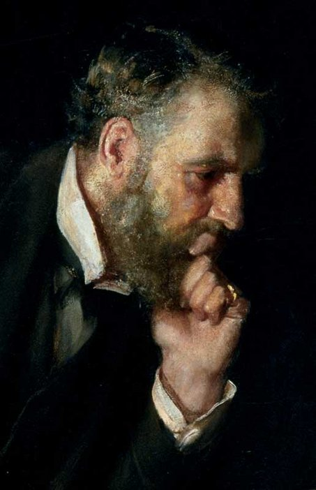 Luke Fildes Detail, The Doctor 1891