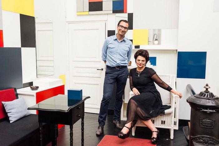 Lulu Guinness Francesco Manacorda Mondrian Studio Liverpool 2014