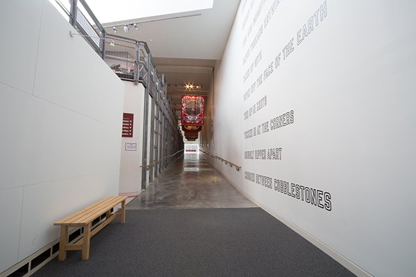 Lawrence Weiner at Woodhorn Museum