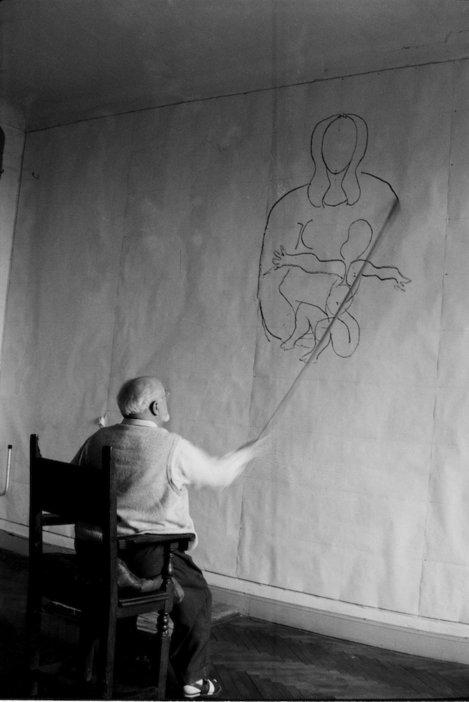 Henri Matisse vence chapel wall painting