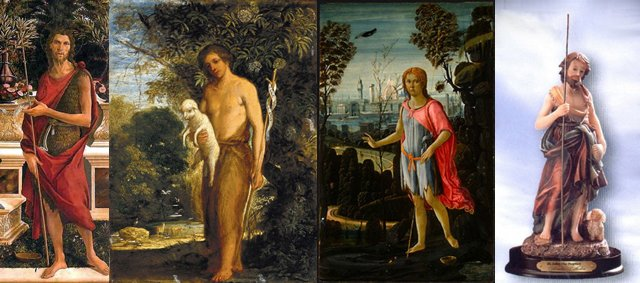 St John The Baptist montage for Art Now Live Work Rory Macbeth ficticious histories tour