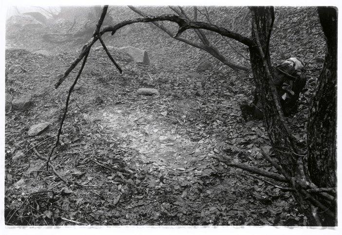 A Night of Rain Sleeping Place An 8 Day Mountain Walk in Sobaeksan Korea Spring 1993