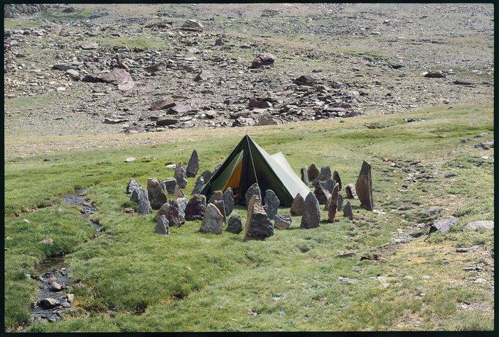 Richard Long Campsite Stones Sierra Nevada 1985