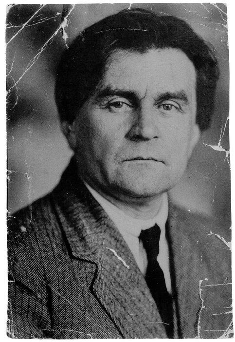 Photograph of Kazimir Malevich, c1925