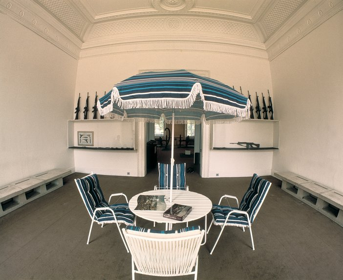 Marcel Broodthaers Décor as it was originally installed at the Institute of Contemporary Arts, London 1975 two