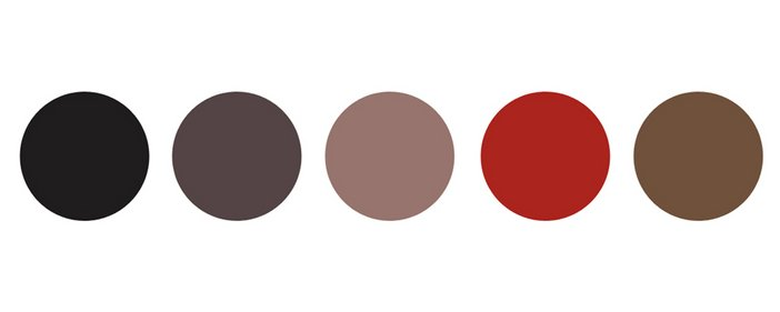 Tate Collection Colour Palette 2014