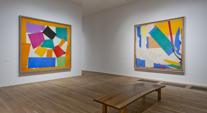 The Snail and Memory of Oceania Henri Matisse Cut-Outs Tate Modern 2014