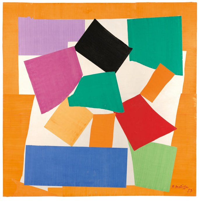 Henri Matisse The Snail 1953