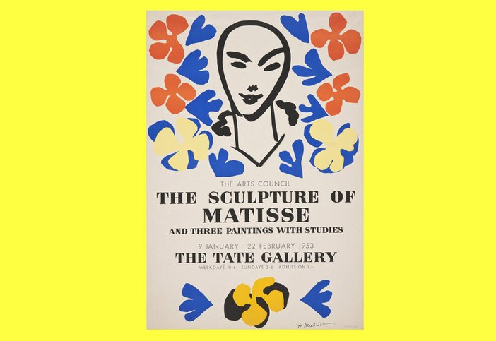 Matisse Tate vintage poster reproduction, Tate online shop, £25.00