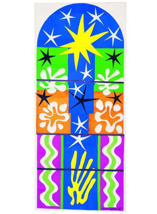 Henri Matisse (1869 -1964) Nuit de Noel 1952 MoMA