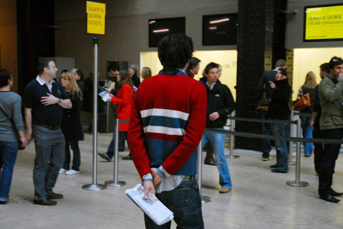 Mario Garcia Torres, Following Piece (with Evo's sweater) 2007