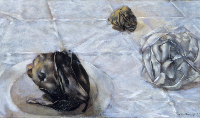 Detail of Dorothea Tanning, Some Roses and Their Phantoms 1952