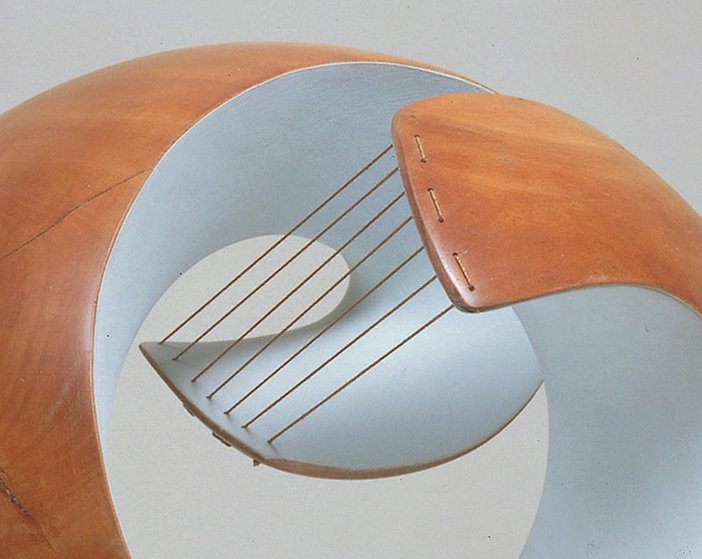 Barbara Hepworth Pelagos - detail 1946