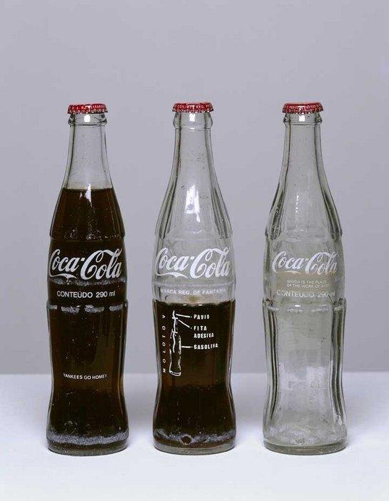 Cildo Meireles, Insertions into Ideological Circuits: Coca-Cola Project (Interções em Circuitos Ideolõgicos: Projeto Coca-Cola) 1970