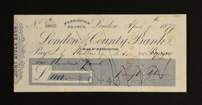 Letter by J. E. Millais 3