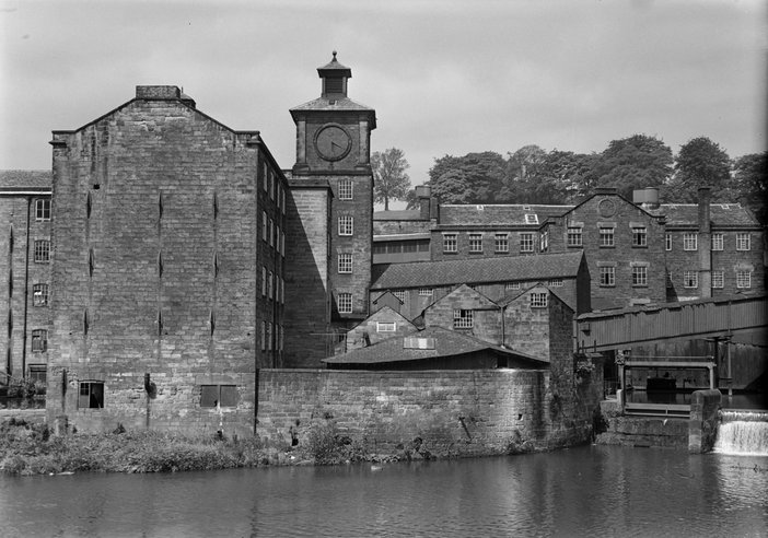 John Piper, 'Photograph of a mill, possibly in Derbyshire' [c.1930s–1980s]