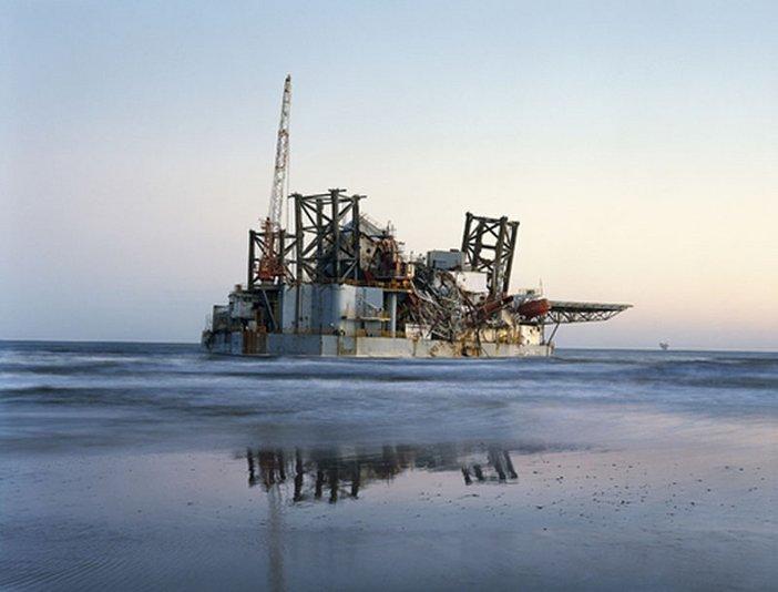 Mitch Epstein Ocean Warwick Oil Platform, Dauphine Island, Alabama 2005