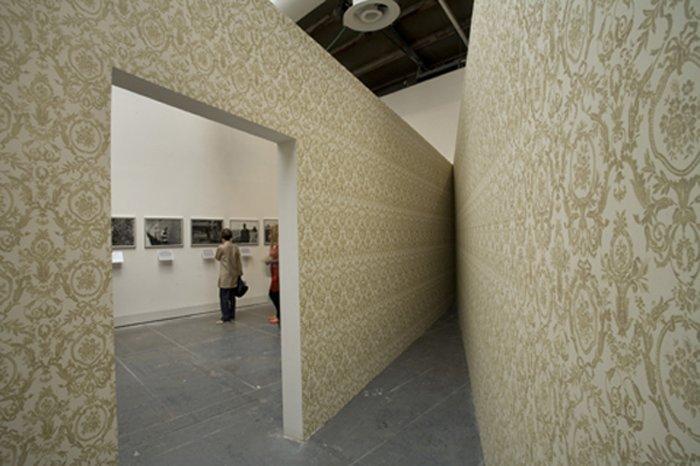 Monika Sosnowska's para-pavilion Antechamber 2011