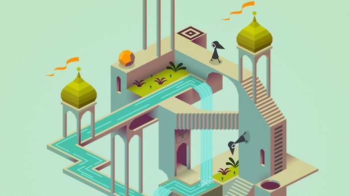 Art direction in video games Monument Valley 1