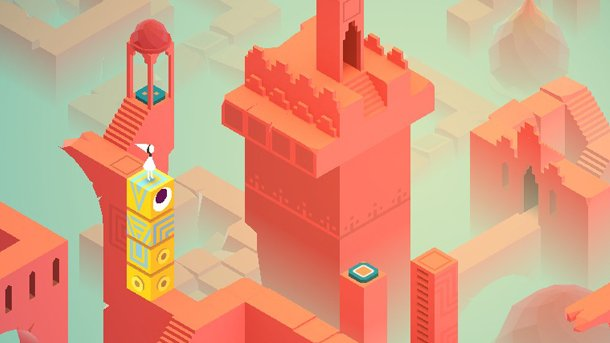 Art direction in video games Monument Valley 2
