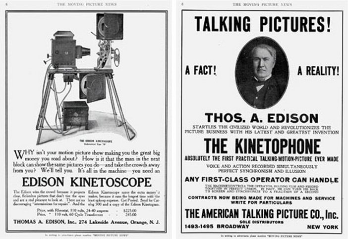 Moving Picture News, 18 January 1913 and 29 March 1913