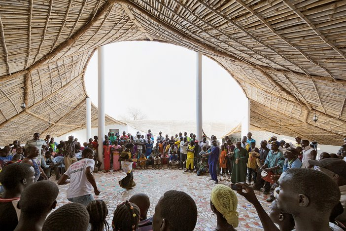 Thread, an artist residency and cultural centre in Sinthian, south-eastern Senegal, designed by Toshiko Mori, launched in 2014