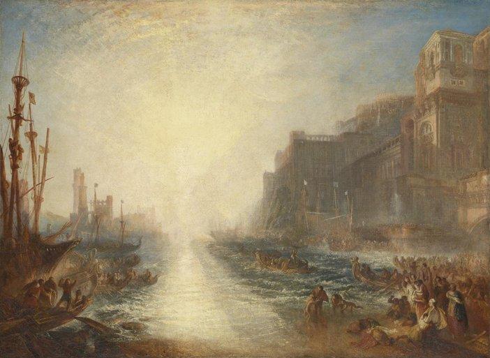 J.M.W. Turner Regulus 1828, reworked 1837