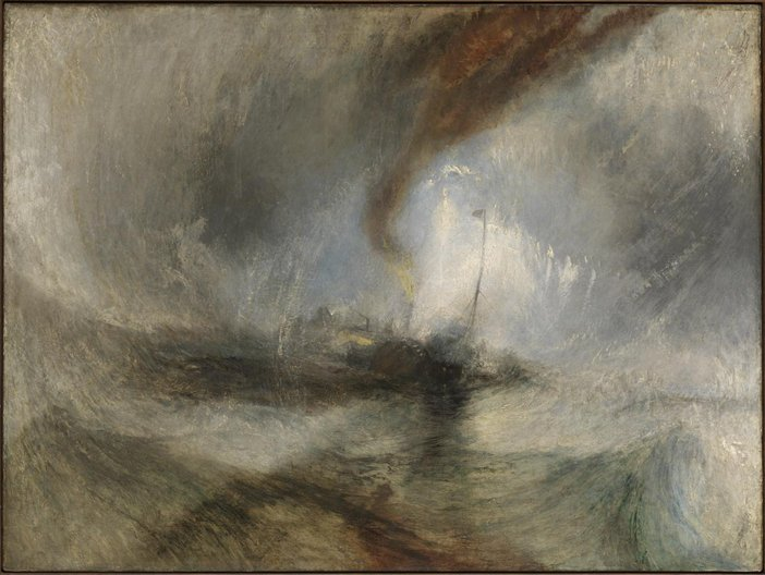 Joseph Mallord William Turner Snow Storm - Steam-Boat off a Harbour's Mouth exhibited 1842