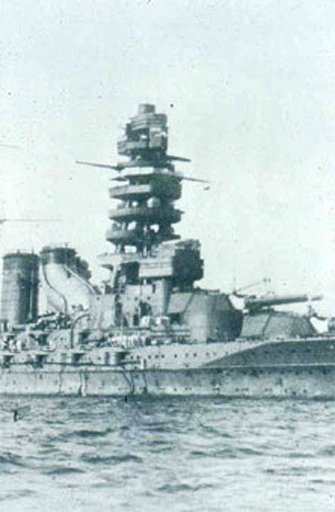 Nagato Japanese battleship late 1920s