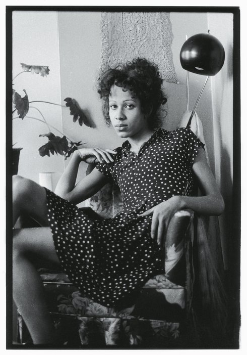 Nan Goldin Bea in her Chair, Boston 1972