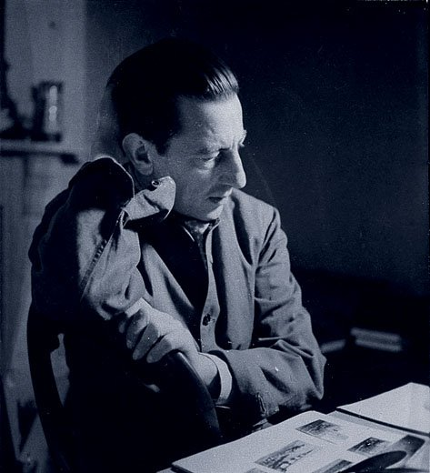 Photograph of Paul Nash during the Second World War