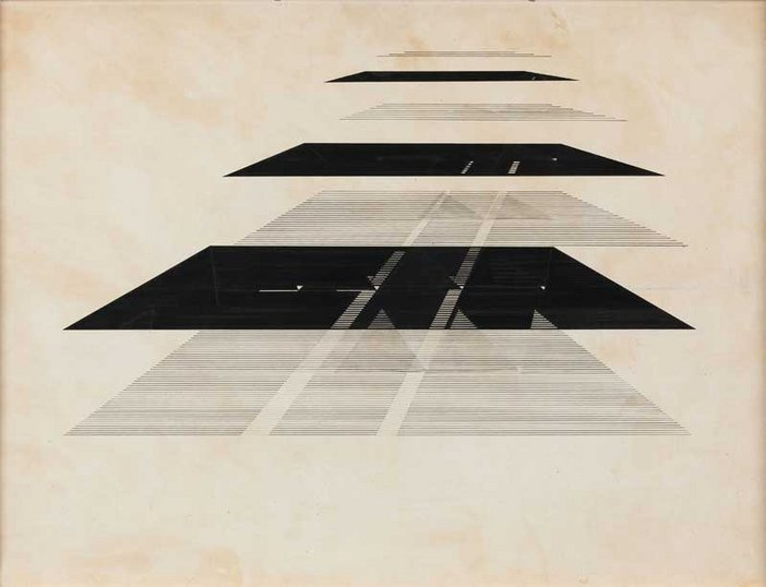 Nasreen Mohamedi 1937-1990, Untitled