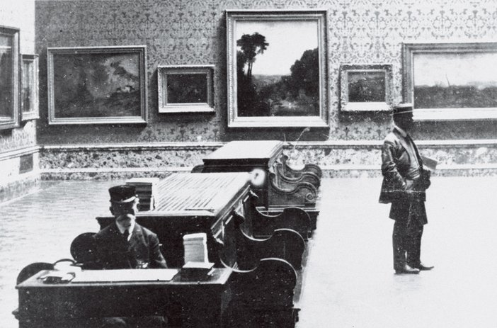 The new Turner Wing at Tate in 1910, featuring Crossing the Brook 1815
