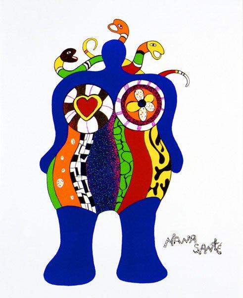 Niki de Saint Phalle Nana Sante 1999