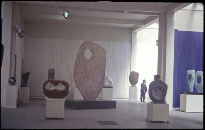 Barbara Hepworth Installation view, The Hepworth Wakefield four