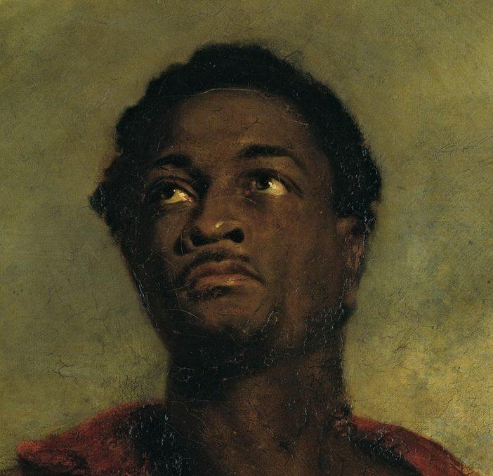 John Simpson Head of a Negro (detail) c.1827