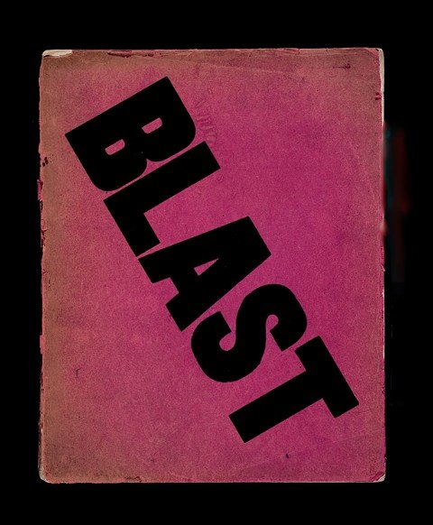 Cover of the Vorticist journal Blast