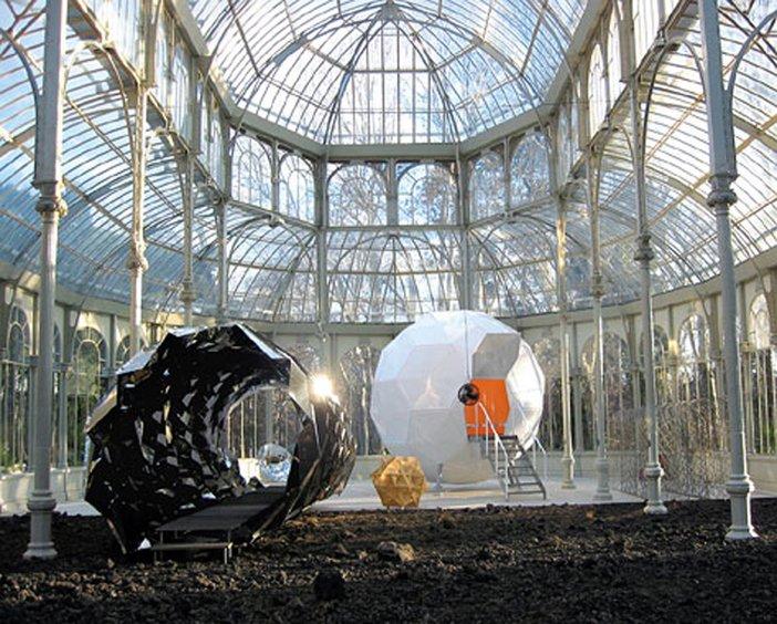 Olafur Eliasson Funcionamiento Silencioso 2003 Installation view, Madrid