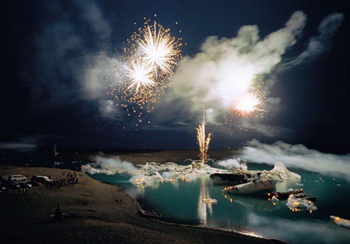 Olafur Eliasson Untitled (Iceland series) 2002