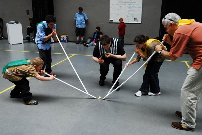 Tom Russotti and Larry Miller, Flux-Olympiad 2008