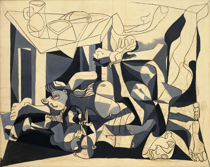 Pablo Picasso The Charnel House 1944–5