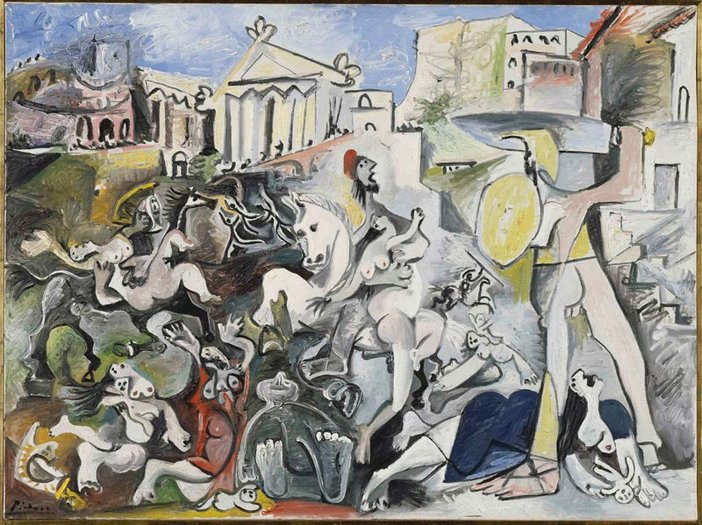 Pablo Picasso The Rape of the Sabine Women Mougins 4–5 and 8 November 1962