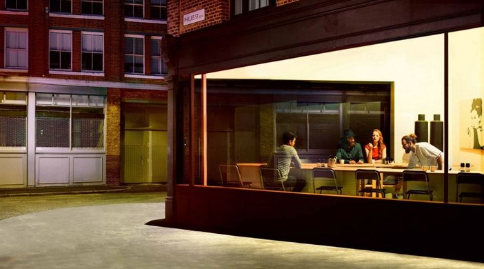 Ikea Edward Hopper Advert 2014