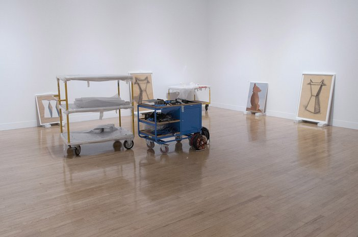 Painting Now Tate Britain Installation