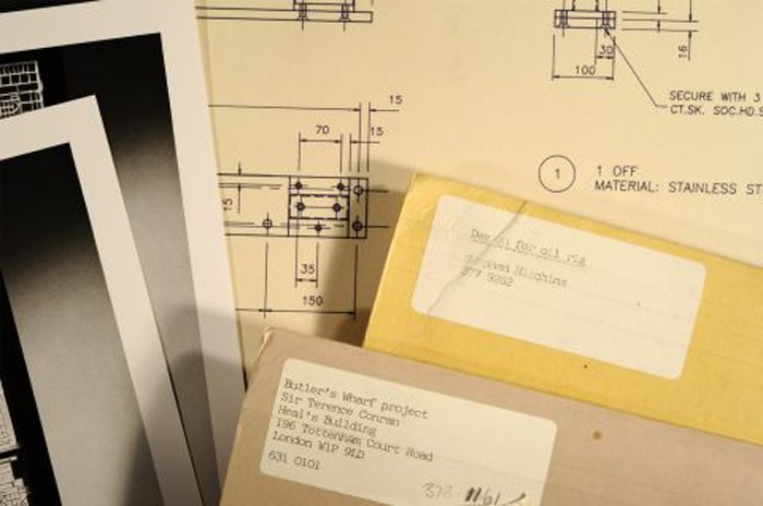 Material from the Paolozzi archive