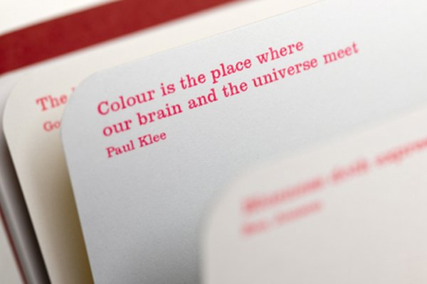 Paul Klee Quote from Sometimes I think, Sometimes I am book by Sara Fanelli