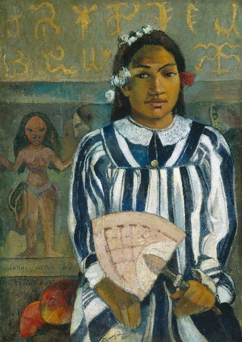Paul Gauguin Merahi metua no Tehamana